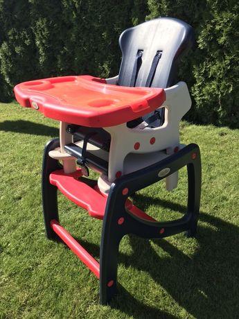 Krzesełko do karmienia, stolik Moolino