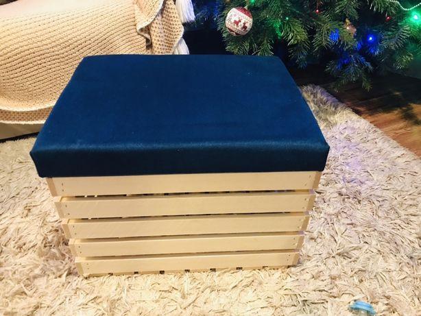 Kufer pufa skrzynia idealna na prezent 40x50