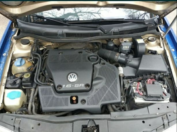 Мотор, двигун AKL 1.6 бензин Volkswagen, skoda