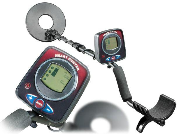 Wykrywacz metalu detektor metali Cobra Tector - wyświetlacz LCD