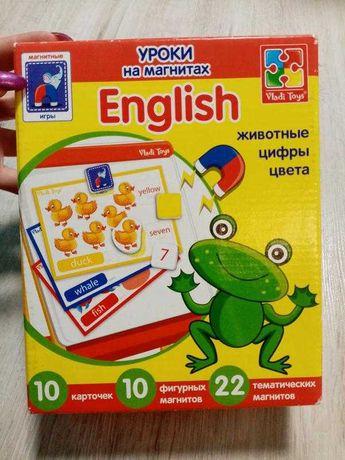Английский на магнитах