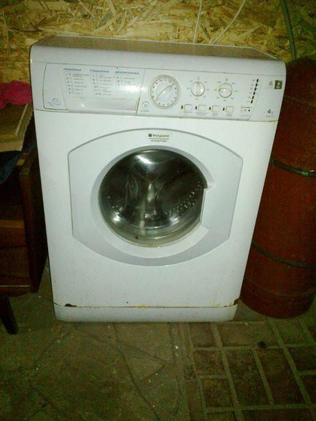 Машинка стиральная узкая, нерабочая