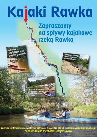 Spływy kajakowe rzeka Rawka