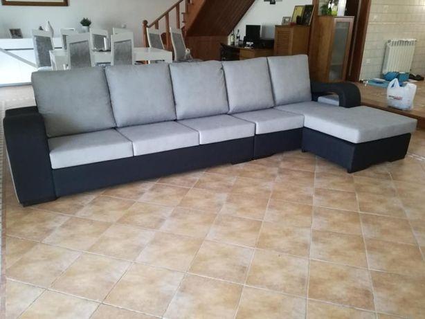 Sofá Onda com 350 cm, novo de fábrica
