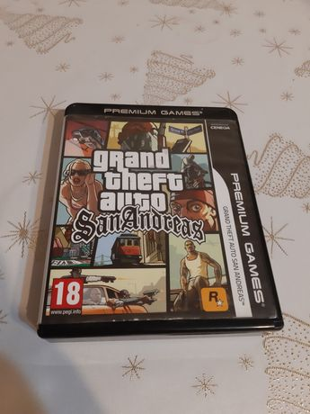 Gra Grand Theft Auto San Andreas