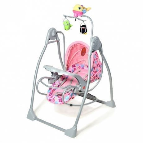 Кроватка - кресло-качель, укачивающий центр для новорожденного