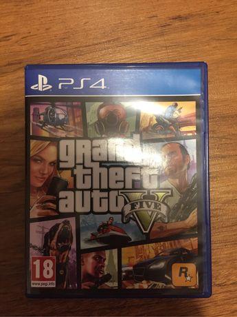 Gra GTA 5 PS4 jak nowe