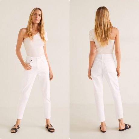 Белые джинсы МОМ Mango Манго, р42