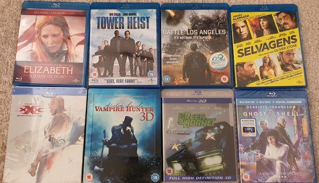 Filmes blu Ray novos e usados