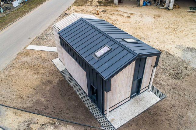 Domek całoroczny 35 m2 z antresolą Możliwość Rat Leasingu MTB Modules