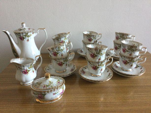 Oryginalna Porcelana Kolekcjonerska Chodzież Iwona - zestaw kawowy