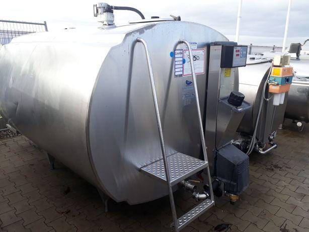 Schładzalnik zbiornik chłodnia do mleka 3500l Alfa Laval, IDEALNY