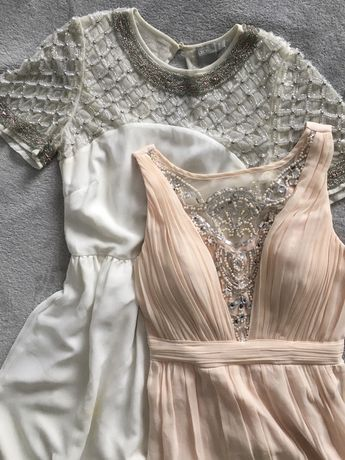Нарядное пудровое платье!