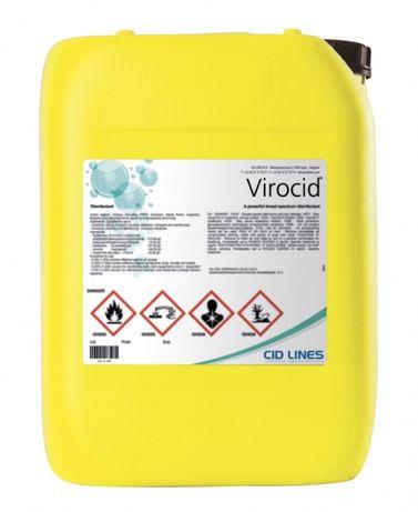 Płyn dezynfekcjiny do mat Virocid 5l ochrona przed Ptasia grypa, ASF