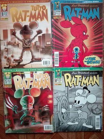 Komiksy Ratman Ortolani po włosku kilka numerów, humorystyczne