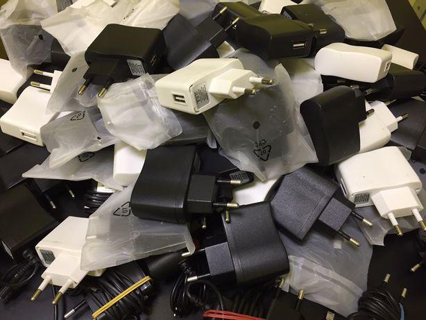 Сетевое зарядное устройство (адаптер,зарядка,блочок,блок,usb) 120шт.