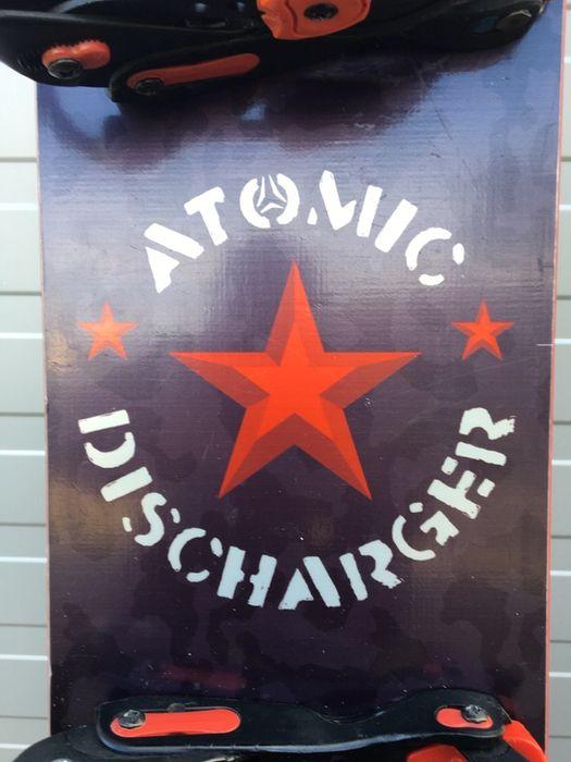 Deska snowboard Atomic Discharger 143 cm wiązania Nidecker Ostrów Wielkopolski - image 1