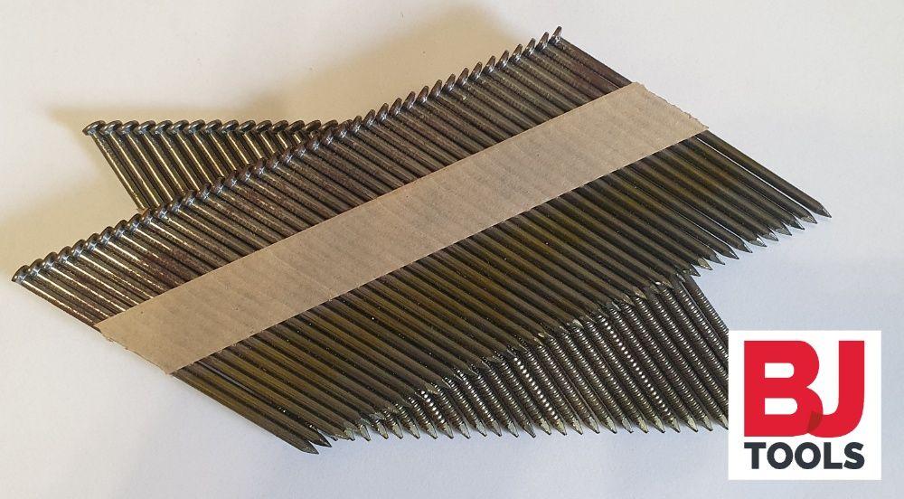 Gwoździe łączone papierem 3,1x90 GŁADKIE (3 TYS) Poznań - image 1