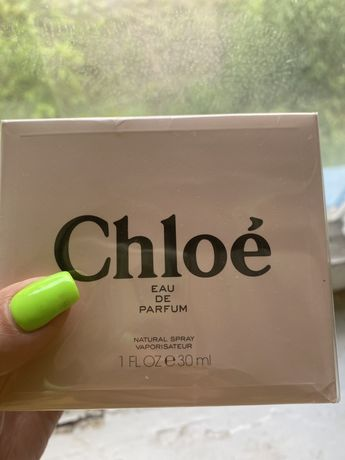 Духи оригинал chloe de perfume