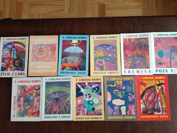 T. Lobsang Rampa- zestaw 11 książek z 13.