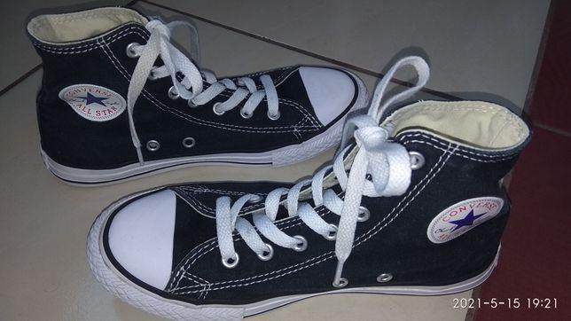 Кеды 34 р. на подростка Converse
