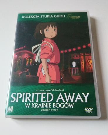 Spirited away w krainie bogów H. Miyazaki Studio Ghibli DVD wyd. PL