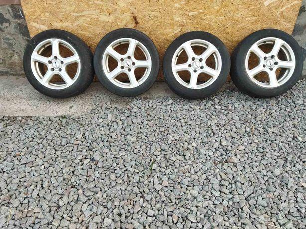 Диски Tekno wheels 5 114,3 16 з Рено Меган 3 з зим. Гумою 205 55 16