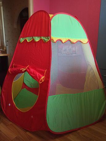 Палатка детская игровая большая Пирамида