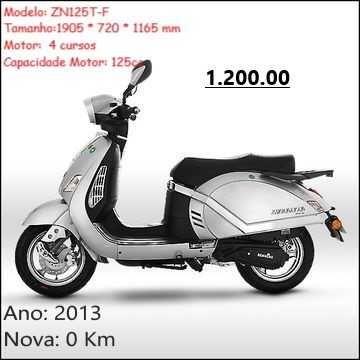 Venda Moto Znen125T-F nova