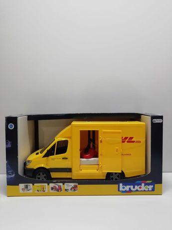 Машина Bruder МВ Sprinter курьерская доставка DHL с погрузчиком 02534
