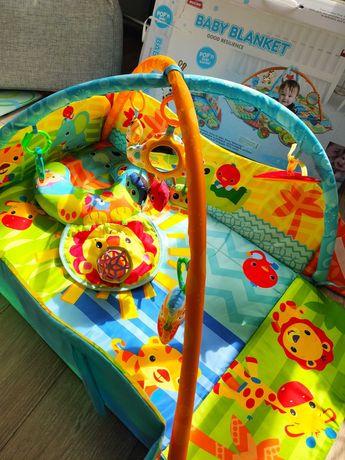 Розвиваючий коврик, ігровий килимок baby blanket манеж
