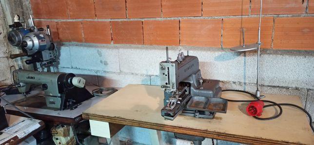 Máquina costura singer industrial