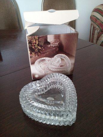 Porta jóias ou bomboneira Cristal d'Arques