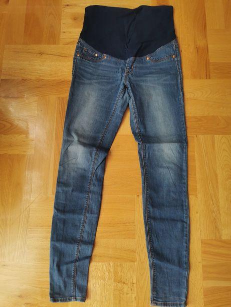 Spodnie jeansy jeans ciążowe H&M Mama rozm. 38