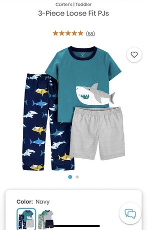 Пижама на мальчика Carter's (картерс) 2Т, 92-98 см