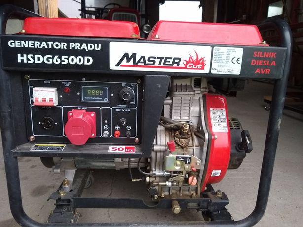 Agregat prądotwórczy diesel 400v 5,3kWmax