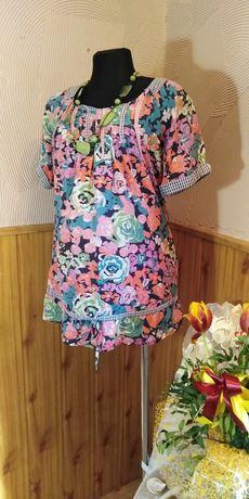 bluzka tunika XL ciążowa