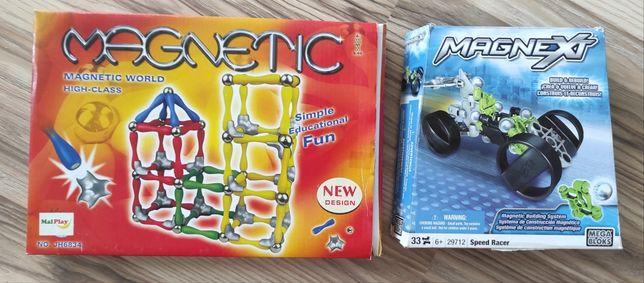 Zestaw gier Magnetic i Magnext - magnetyczne układanki