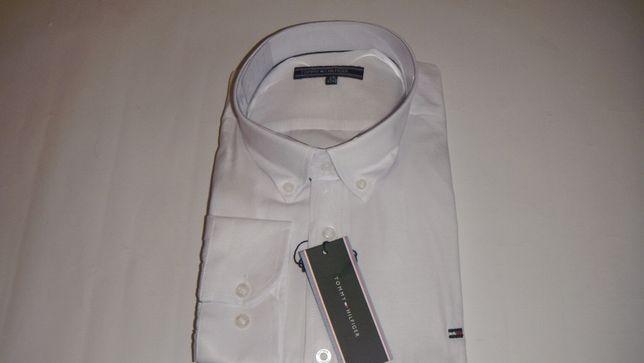 Koszula tommy hilfiger biała