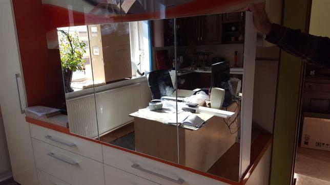 Nowa szafka łazienkowa z lustrami 118x68x15