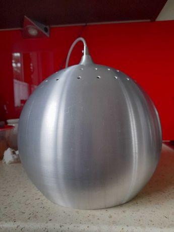 Lampa srebrna  kula