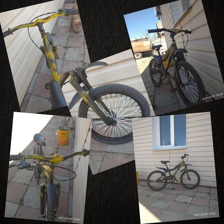 """Велосипед подростковый Profi 20"""""""