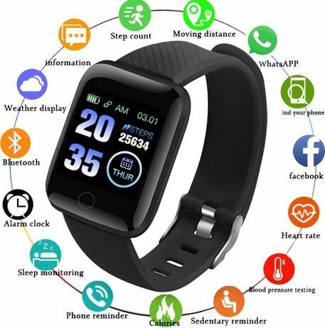 Opaska sportowa-nowa -puls, ciśnienie,liczenie kroków, zegarek