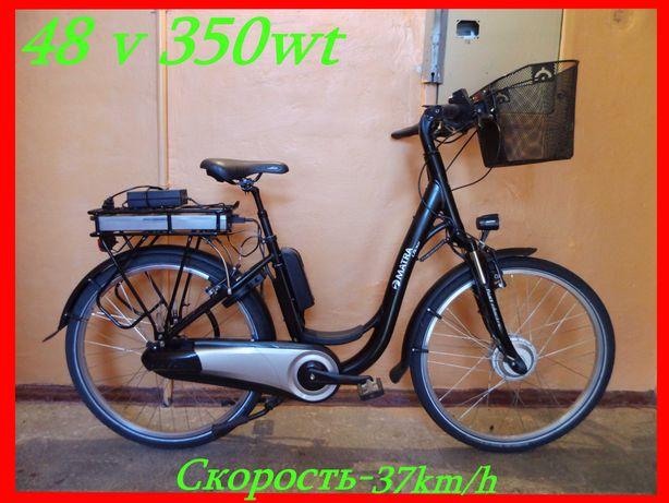 """Электро-велосипед електро-велосипед РУЧКА ГАЗА! планетарка Новый! 26"""""""