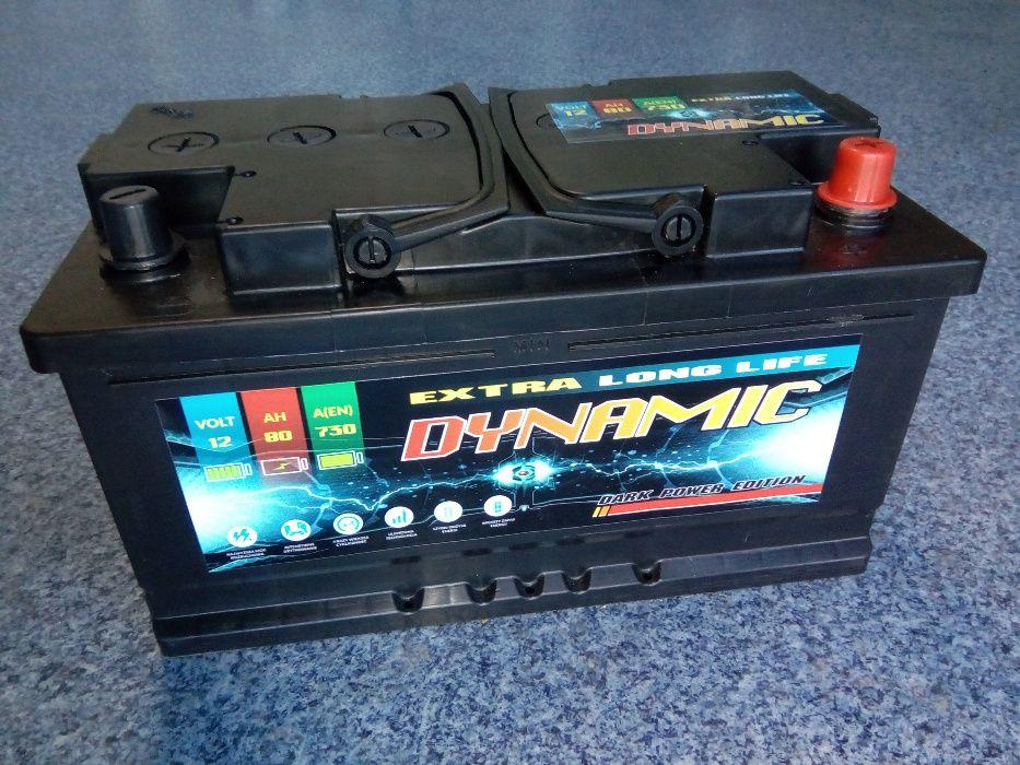 Akumulator DYNAMIC 12V 80Ah 730A Brzeziny