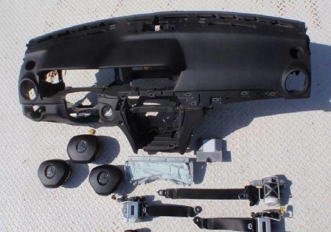 MERCEDES W204 W205 tablier painel do bordo airbags cintos