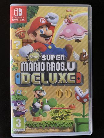 Super Mario Bros U Deluxe, Nintendo Switch