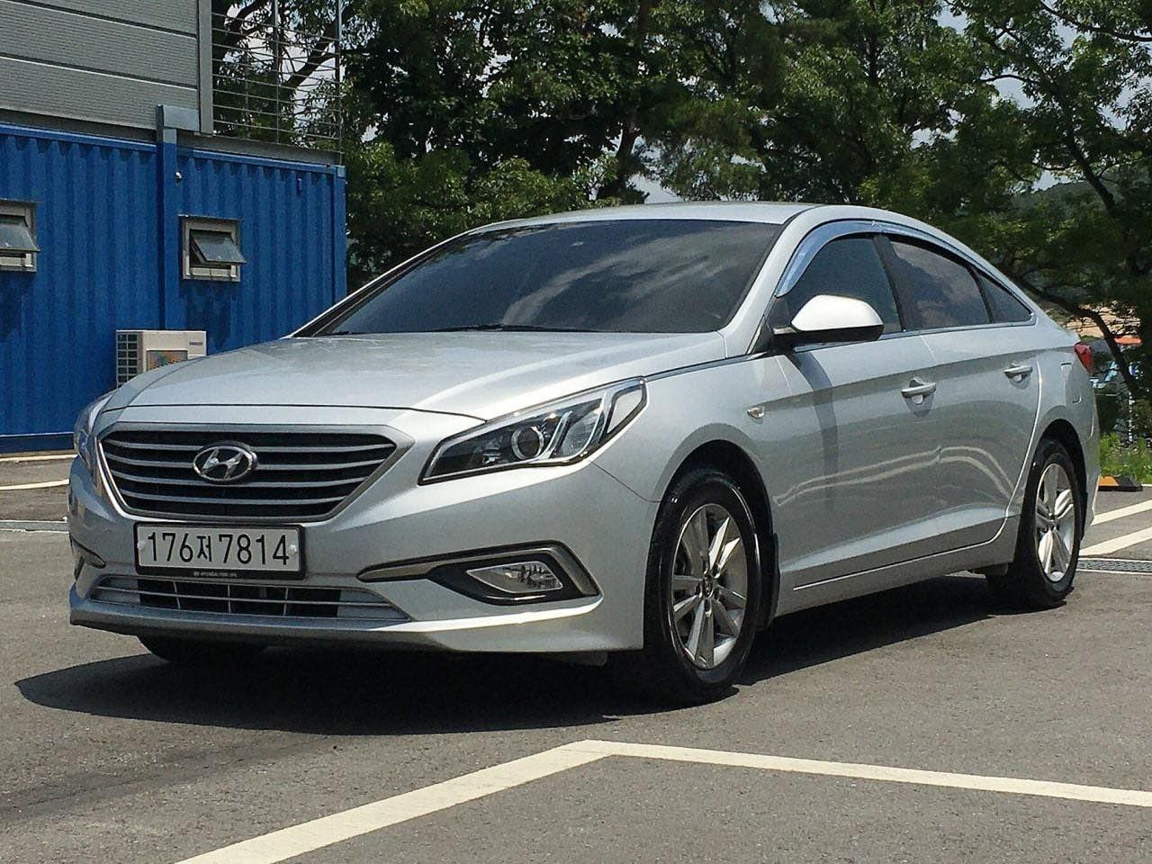 Hyundai Sonata Lpi 2016 Аренда, прокат авто под такси