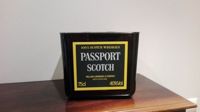 Balde para gelo publicidade Passport Scotch Whiskies