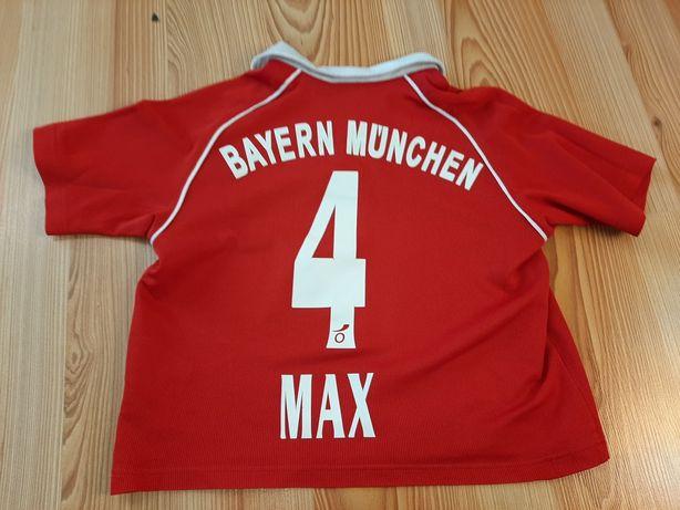 Koszulka adidas piłkarska z imieniem Max Bayern Monachium